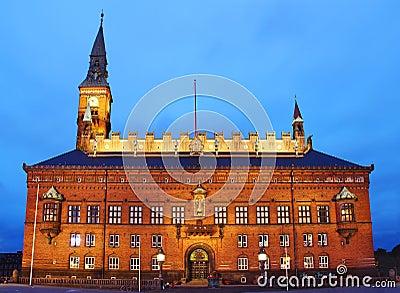 City Hall of Copenhagen