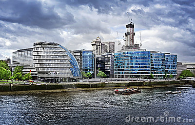City hall and Corporate Office Blocks, London.