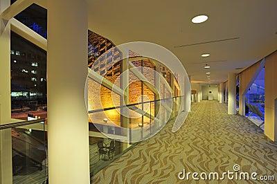 City hall corridor