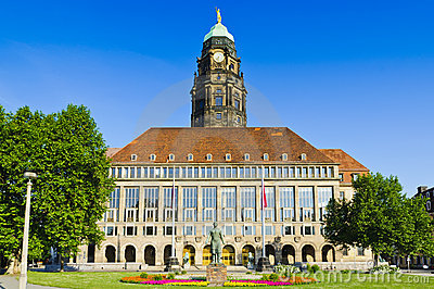 City hall dresden