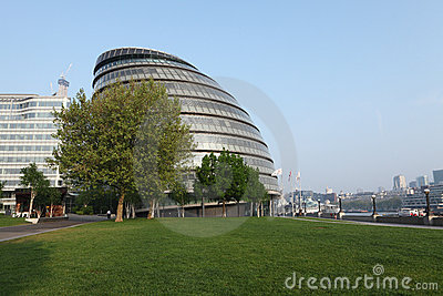 City Hall of GLA in London city England UK Editorial Photography