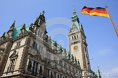 City Hall in Hamburg