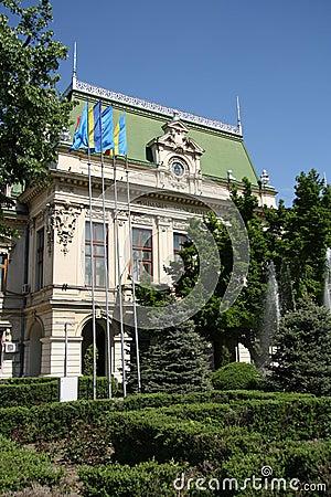 City Hall in Iasi (Romania)