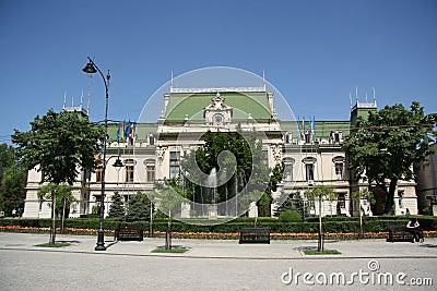 City Hall in Iasi (Romania) Editorial Stock Image