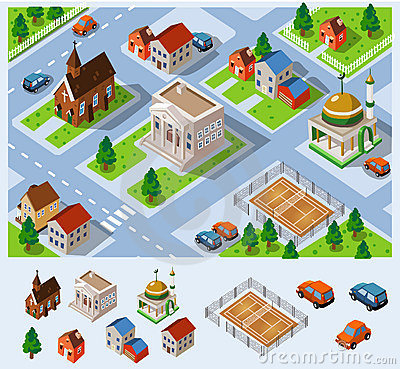 City Hall Isometric