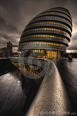 Free City Hall, London Royalty Free Stock Photography - 4459587