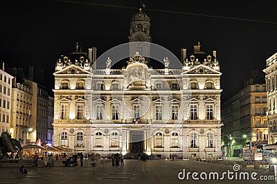 City Hall of Lyon. France