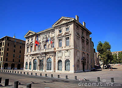 The city hall of Marseille
