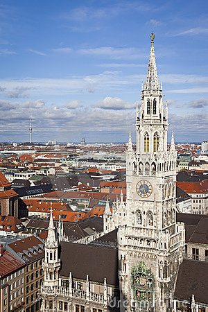 City hall munich