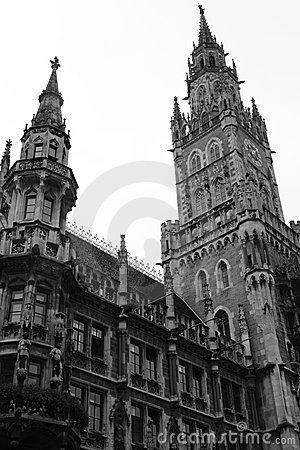 City hall in the munich