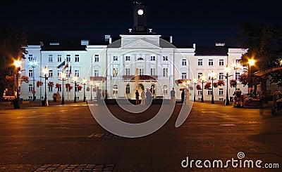 City-hall  by night.