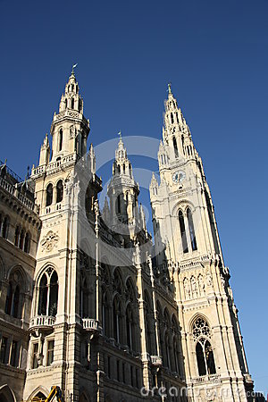 City hall - Rathaus - in Vienna