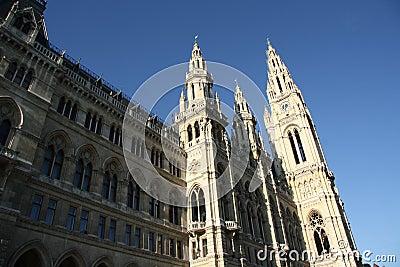 City hall - Rathaus - in Vienna