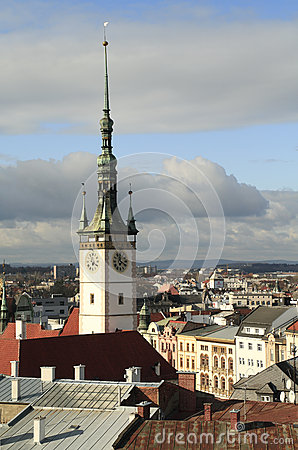 Free City Hall Tover In Olomouc Royalty Free Stock Image - 60529836