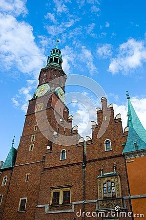 City hall Wroclaw Poland