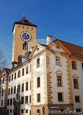 City house of Regensburg