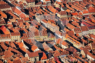 City houses pattern