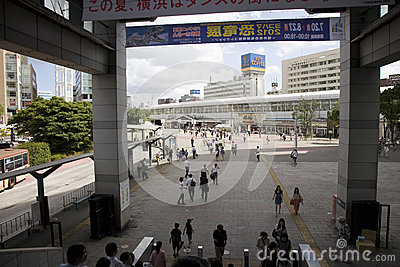 City of Japan Tokyo. A view on a city. Editorial Stock Photo