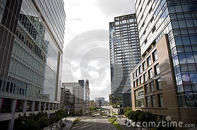 City of Japan Tokyo. A view on a city. Editorial Photography