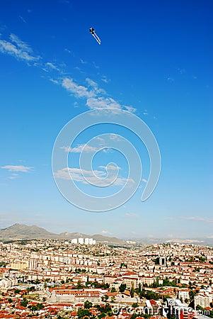 City and kite