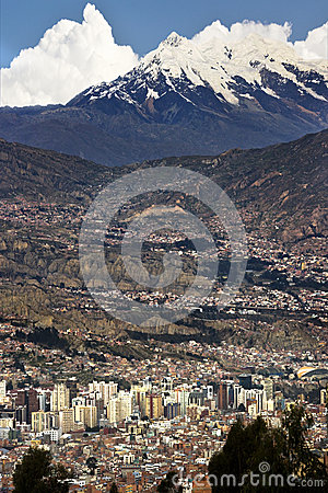 City of La Paz - Bolivia