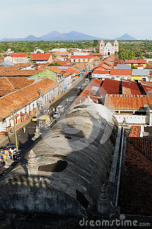 The City of Leon, Nicaragua