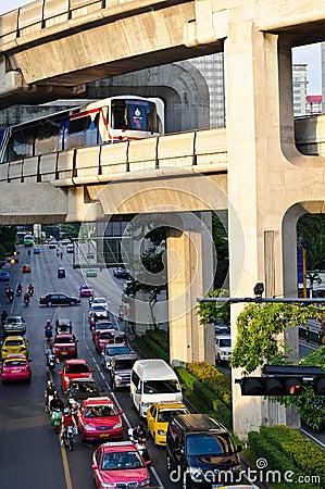City life of Bangkok
