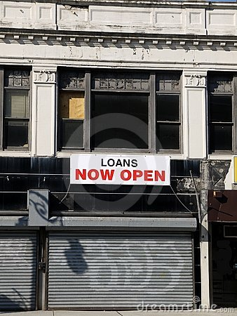 City: loan shop - closed