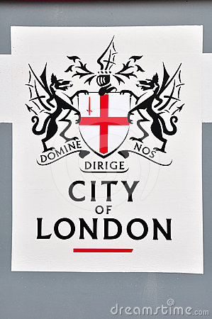 City of london logo Editorial Image
