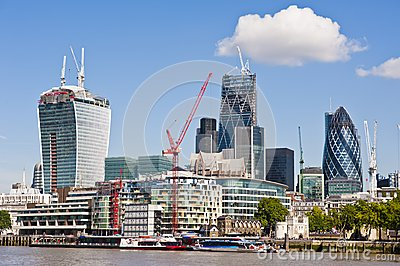 City of London new Skyline 2013