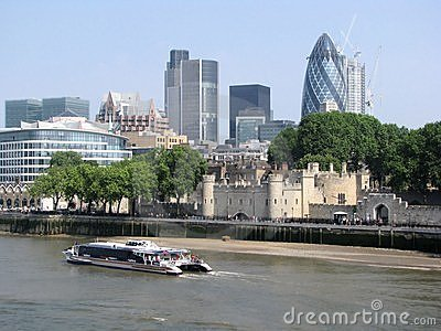 City of London skyline Editorial Stock Photo