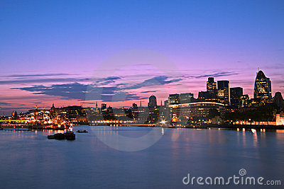 City of London, skyline