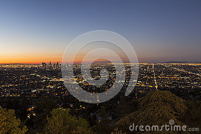 City of Los Angeles Night