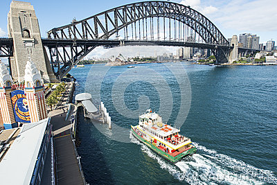City from Luna Park Editorial Stock Image