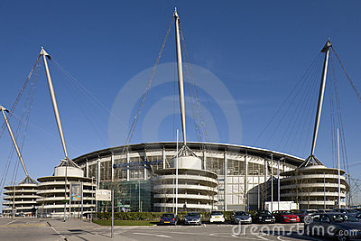 City of Manchester Stadium - England Editorial Photo