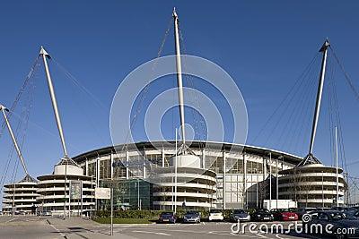 City of Manchester Stadium - England Editorial Photo
