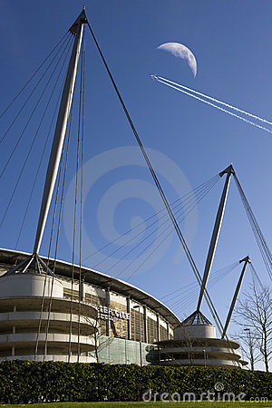 City of Manchester Stadium - Manchester - England Editorial Photography