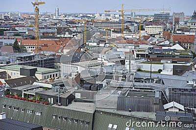 City of Munich Editorial Stock Photo
