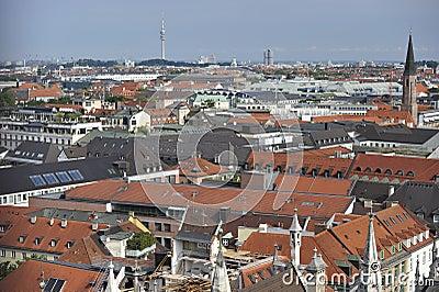City of Munich Editorial Photo