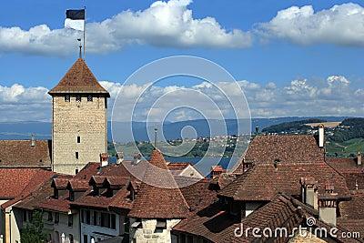 City of Murten, Switzerland