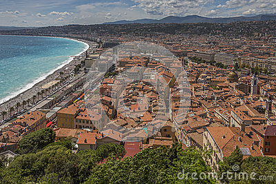 City of Nice - Cote d Azur - French Riviera