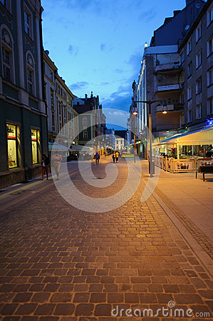 City at night Editorial Stock Photo