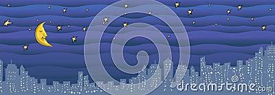 City Night illustration