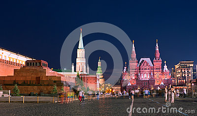 The city at night Editorial Stock Photo