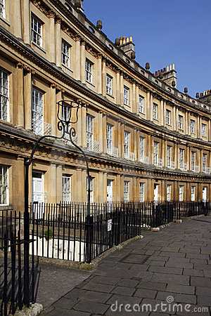 Free City Of Bath - The Circus - England Royalty Free Stock Photo - 18724705