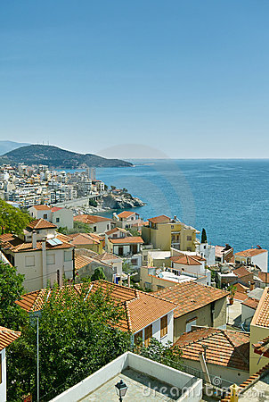 Free City Of Kavala In Greece Stock Image - 13294481