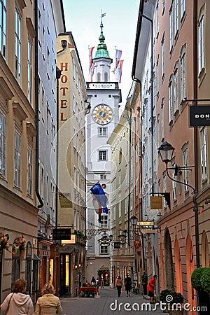 Free City Of The Salzburg,Austria Stock Photos - 17801943