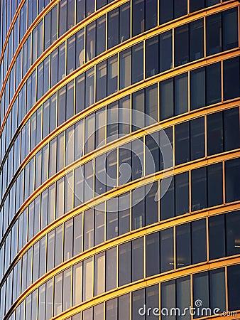 City Office Windows, London UK