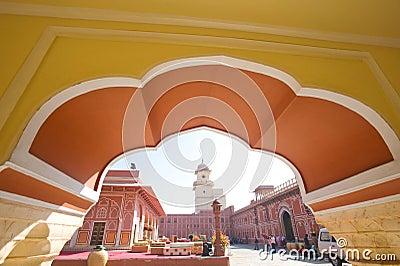 City Palace,India. Editorial Stock Photo
