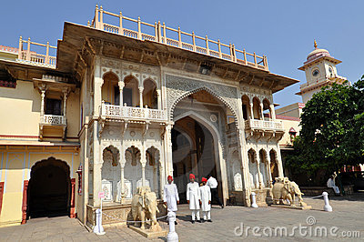 City Palace in Jaipur Editorial Photo